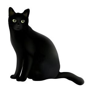 22+ Black Cat Clip Art.