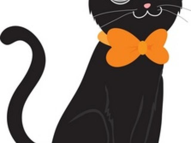 Free Black Cat Clipart, Download Free Clip Art on Owips.com.