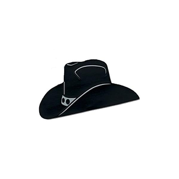 Cowboy Head Silhouette Clip Art.