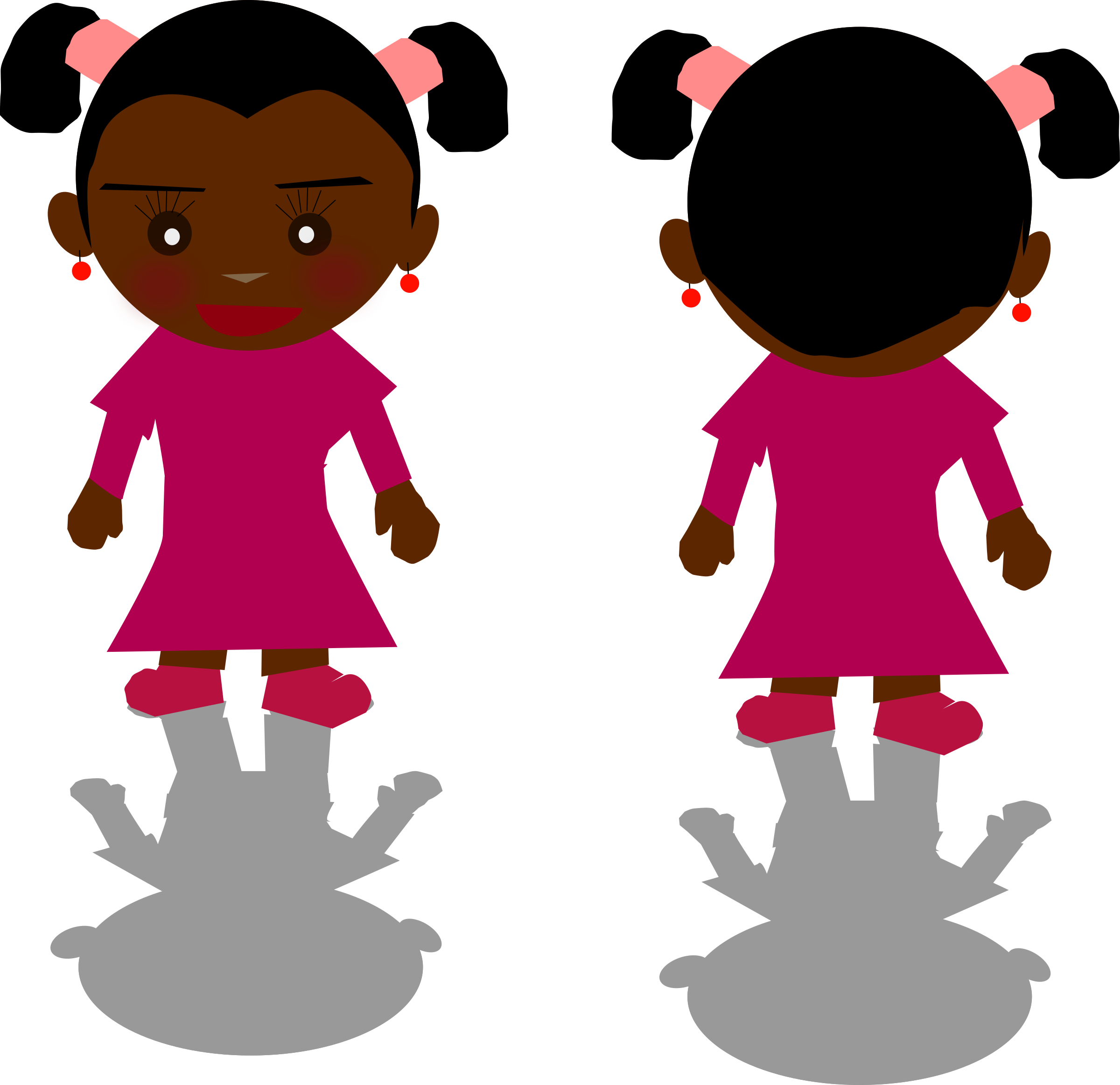 Black Girl Clipart Png.