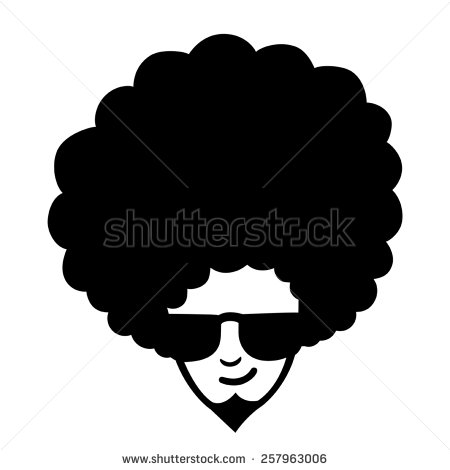 Afro Hair Stock Images, Royalty.