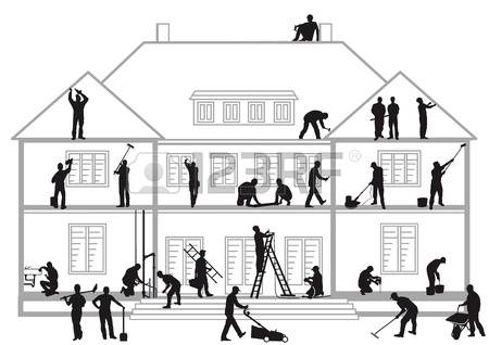 5,655 Building Trades Stock Vector Illustration And Royalty Free.
