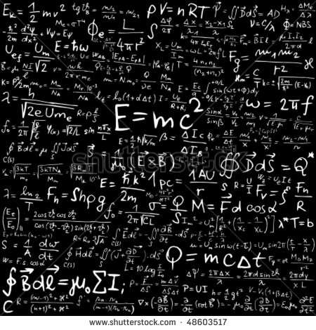clipart blackboard formulas #16