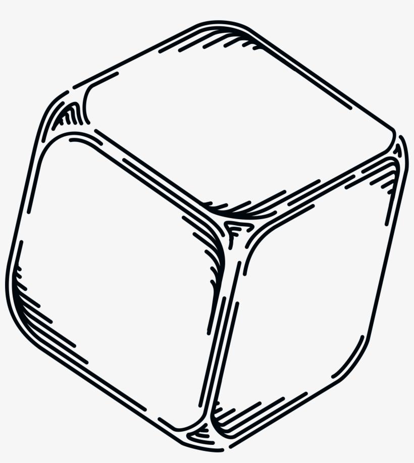 Cube Clipart Blank Dice.