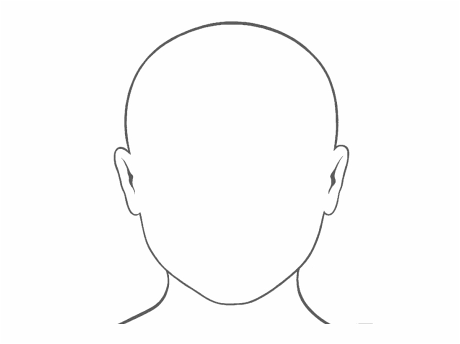 Blank Face Png Photo.