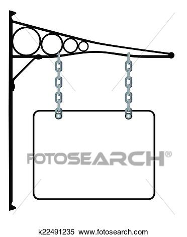 Blank Sign Clipart.