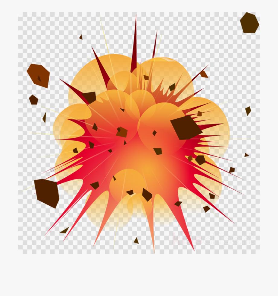 Explosion Clip Art Transparent , Png Download.