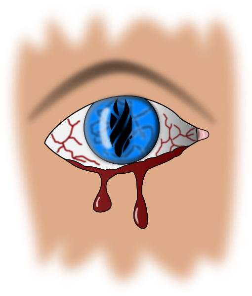 Bleeding Eye Clip Art at Clker.com.