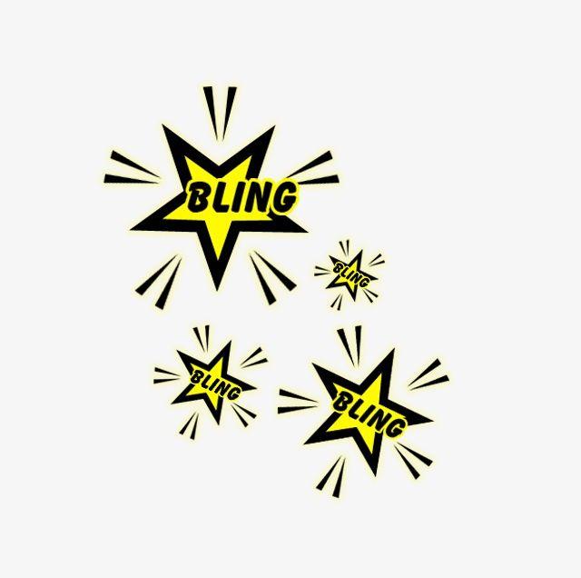 Bling Stars PNG, Clipart, Bling, Bling Clipart, Bling.