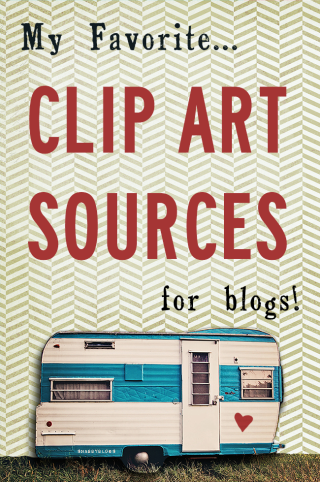 Clip Art Resources (For Blogs!).