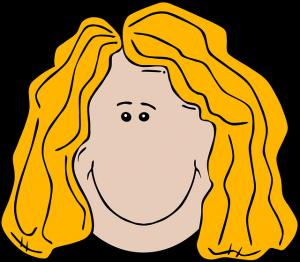 Blonde Hair Cliparts.