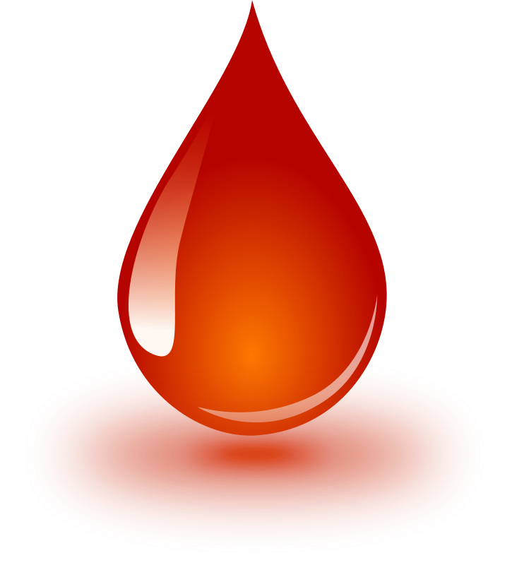 Free Clipart: Blood Drop.