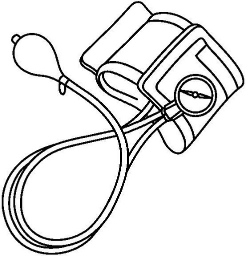 Blood Pressure Cuff Clip Art, Blood Pressure Free Clipart.