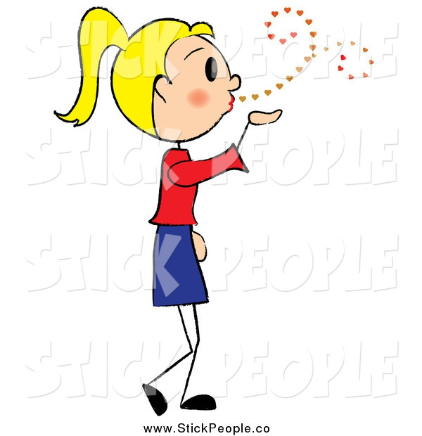 Blowing Kisses Clipart#2131874.