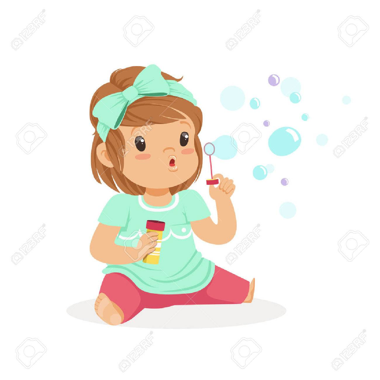 Blow bubbles clipart 6 » Clipart Station.