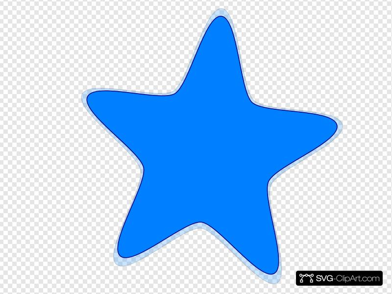 Blue Star Clip art, Icon and SVG.