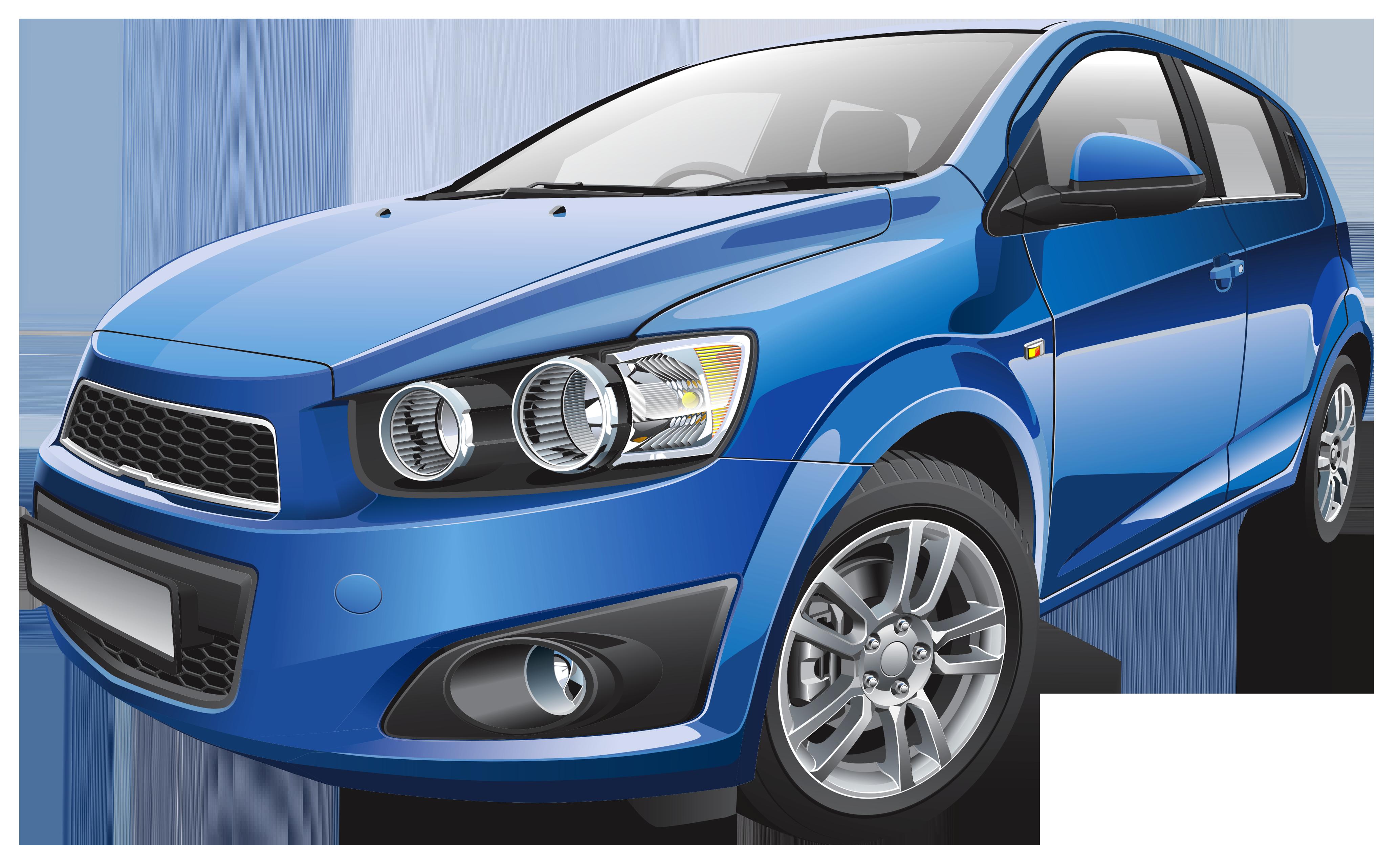 Blue Car PNG Clip Art.