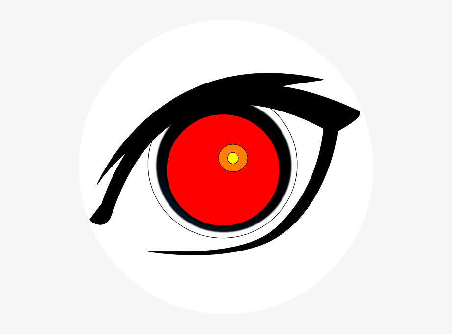 Evil Anime Eyes Png.