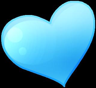 Blue Heart Clipart & Blue Heart Clip Art Images.