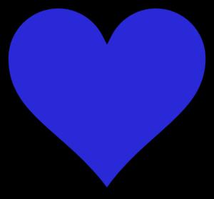 Blue Heart Clipart.