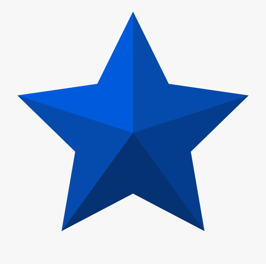 Star Clipart Red White Blue.