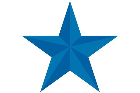 Blue star clipart » Clipart Station.
