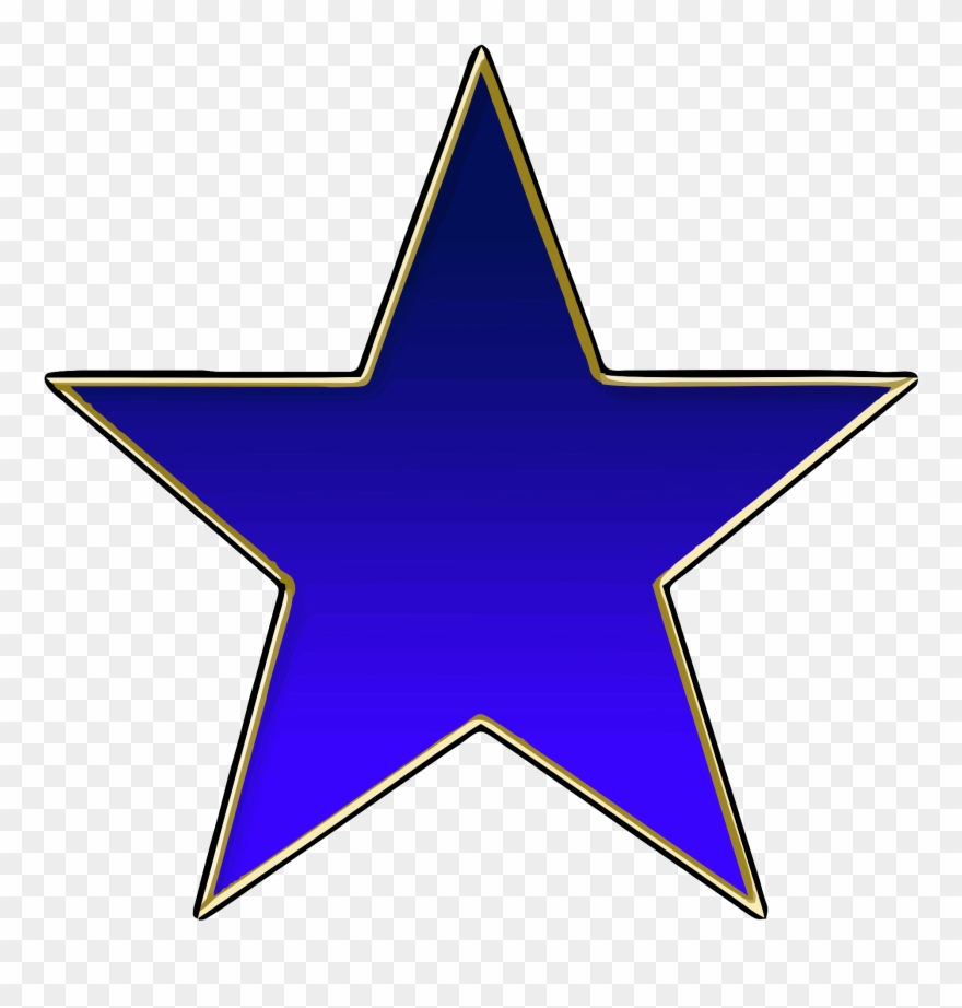 High Quality Creative, Blue Star.