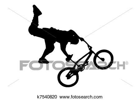 BMX Clipart.