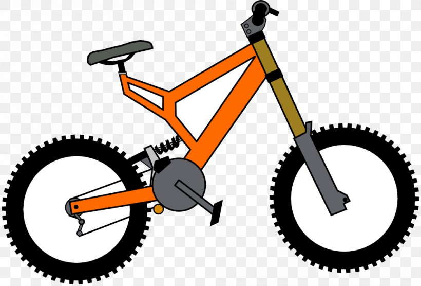 Cruiser Bicycle BMX Bike Clip Art, PNG, 1000x679px, Bicycle.