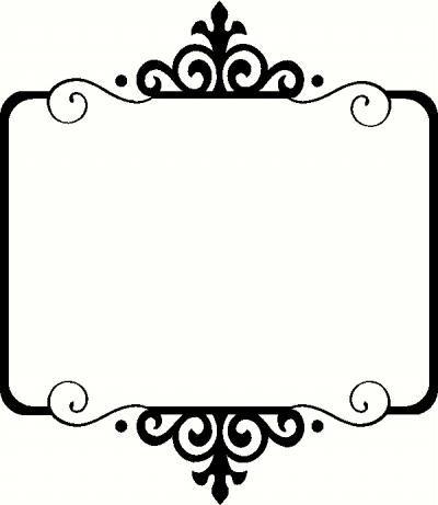 clipart frame border - Clipground | 400 x 461 jpeg 14kB