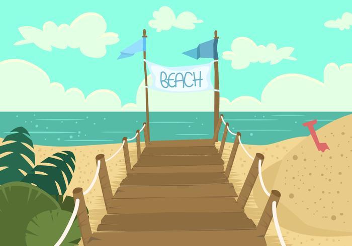 Boardwalk Beach View.