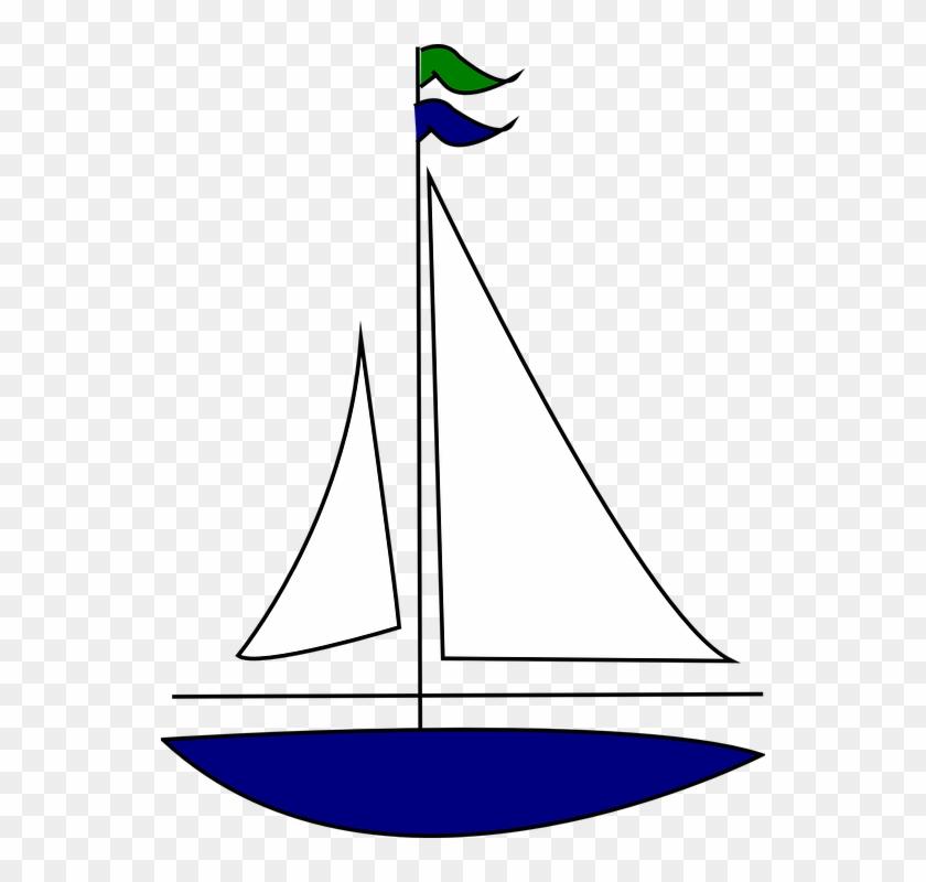 Sailing Boat, Boat, Sail, Sea, Ocean, Water, Sailboat.