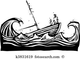 Sinking ship Clip Art Vector Graphics. 339 sinking ship EPS.