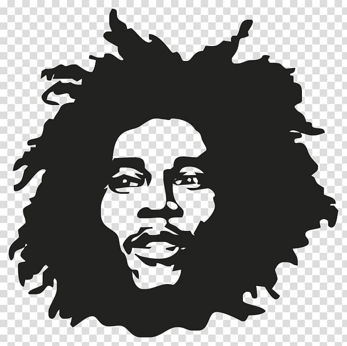 Bob Marley Silhouette Musician Drawing, bob marley.
