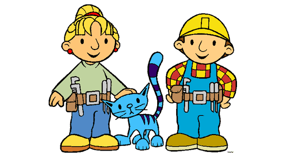 Bob the Builder Clip Art.
