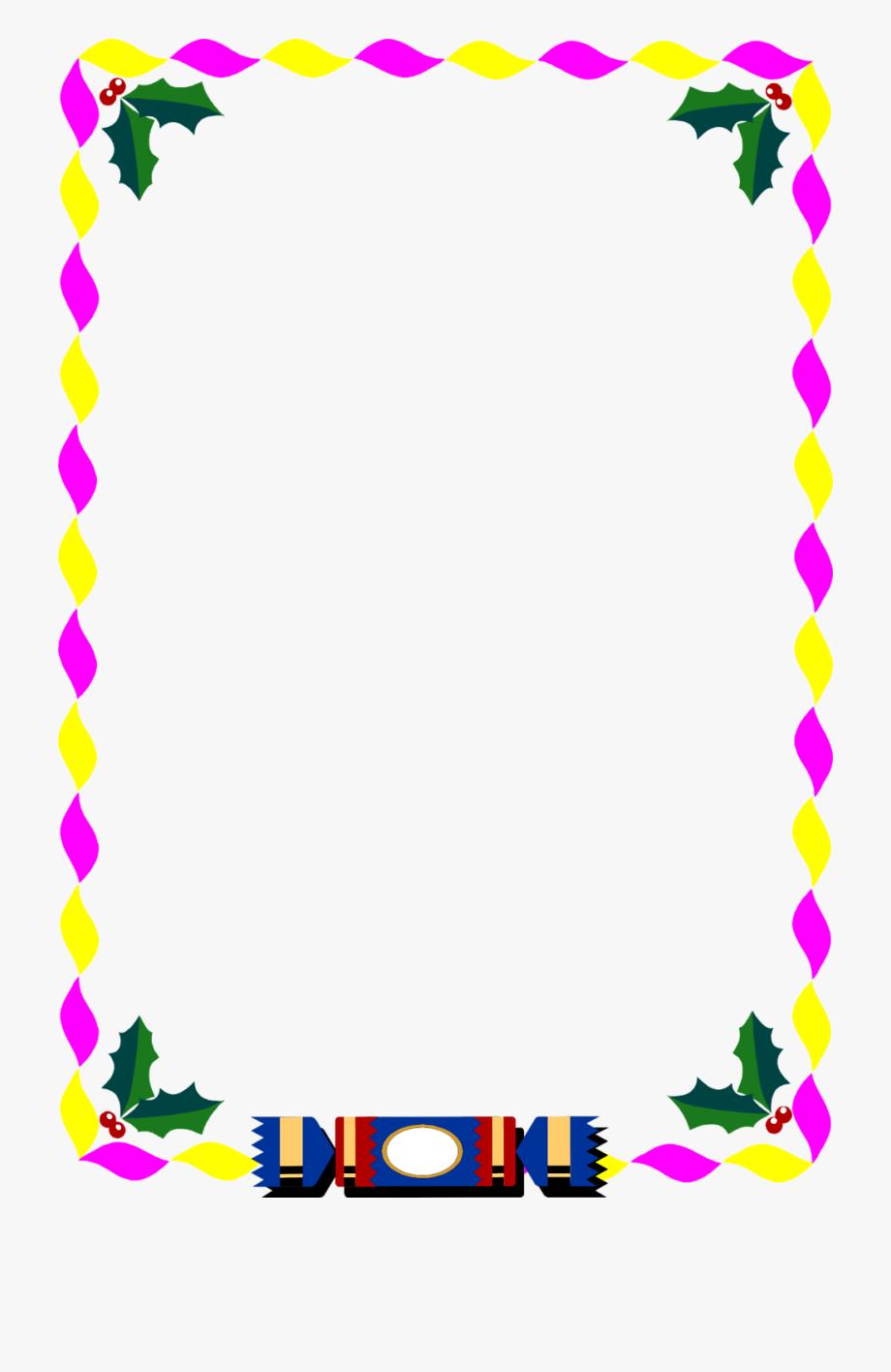 Christmas Clip Art Borders Free.