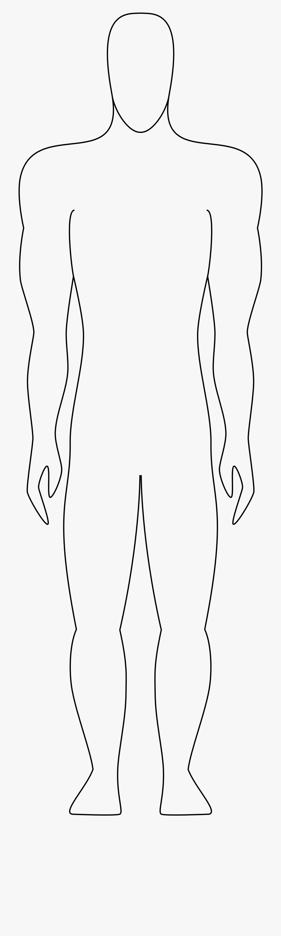 human figure outline.
