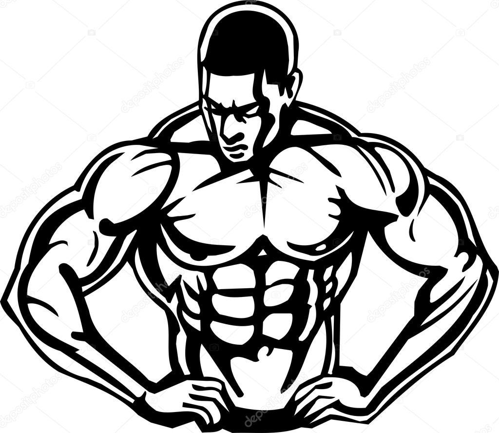 Bodybuilding Clipart.