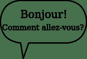Clipart bonjour 4 » Clipart Portal.