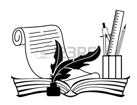 3,017 Scroll Pen Stock Vector Illustration And Royalty Free Scroll.