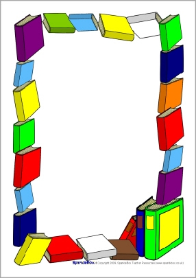 clipart book borders free - Clipground