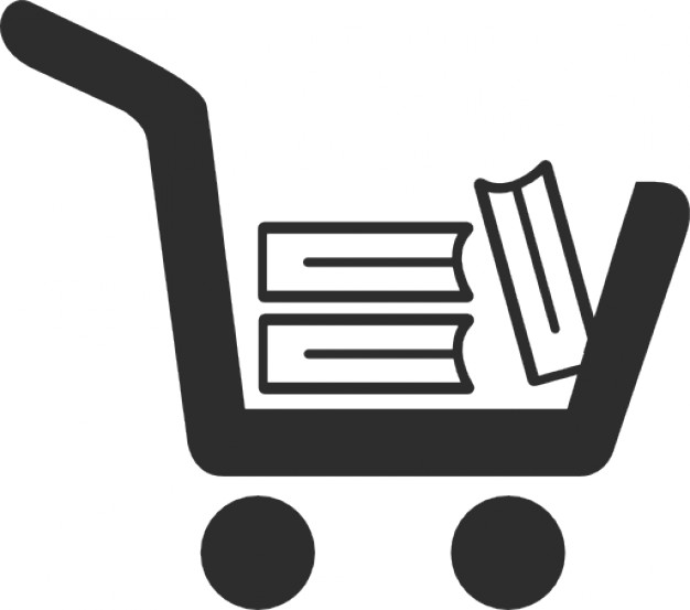 Book cart Icons.