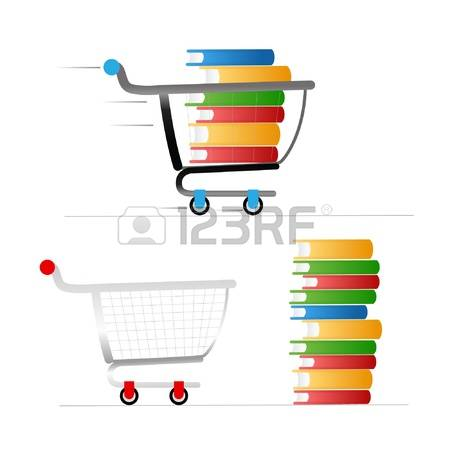 1,506 Book Cart Stock Vector Illustration And Royalty Free Book.