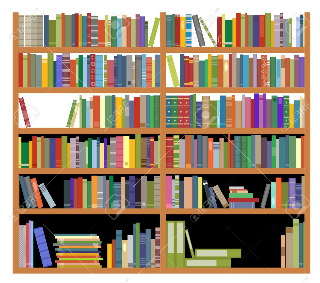 15,068 Bookshelf Stock Illustrations, Cliparts And Royalty Free.