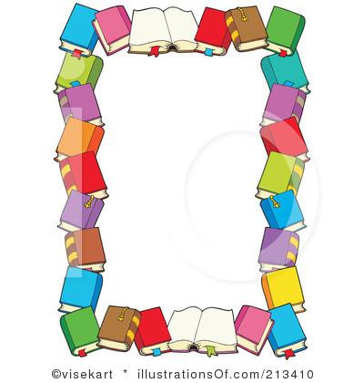 Book Borders Free Clip Art.