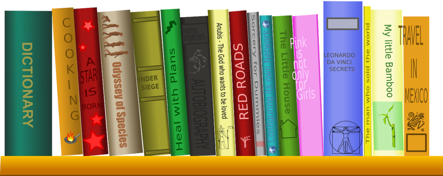 Books Cartoon clipart.
