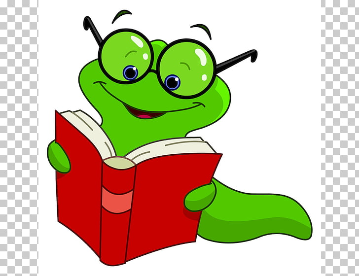 Bookworm Cartoon , Cute Please s PNG clipart.