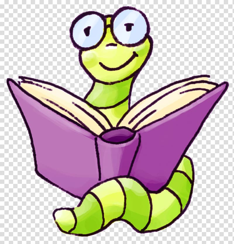 Bookworm , book transparent background PNG clipart.