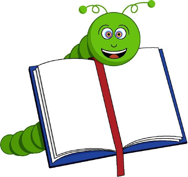 Bookworm Clip Art at Clker.com.