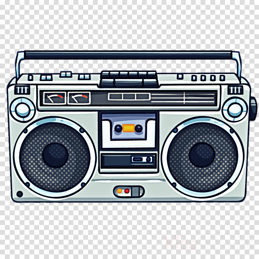 boombox portable media player technology electronic device.
